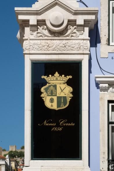 Lisbon faccade, signs and storefronts. Quest - Im Wandel Der Zeit. Oliver Lins