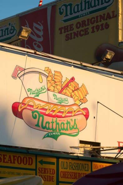 Coney Island Nathan's Wonderland Brooklyn New York. Typography Impressions. Quest - Im Wandel Der Zeit. Oliver Lins