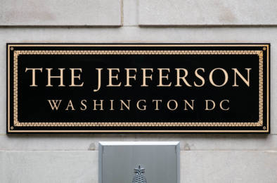 Center Of Power. House Of Cards. Washington DC. Signage By Oliver Lins
