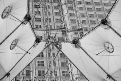 La Grande Arche de la Défense. Architecture Paris. Quest - Im Wandel Der Zeit