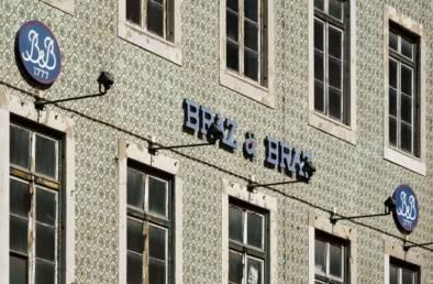 Lisbon Architecture Typography Signage. Quest - Im Wandel Der Zeit. Oliver Lins