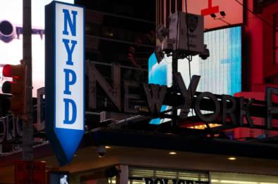 Times Square New York City. Quest - Im Wandel Der Zeit. Oliver Lins