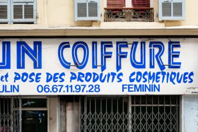 Côte d'Azur - Nice. Typography Impressions. Quest - Im Wandel Der Zeit. Oliver Lins