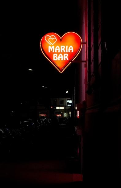 Reeperbahn Hamburg. Quest - Im Wandel der Zeit, by Oliver Lins. Maria Bar