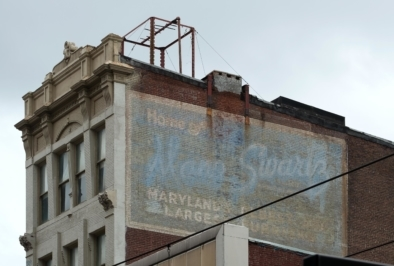 Baltimore Downtown Typography. Oliver Lins, Quest - Im Wandel der Zeit