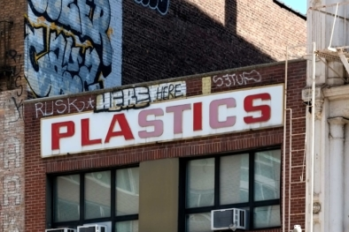 Industrial plastics - Chinatown - Typography Oliver Lins