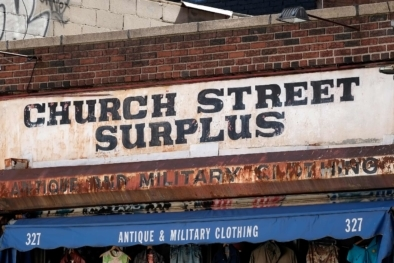 Church Street Surplus - Chinatown Typography - Oliver Lins