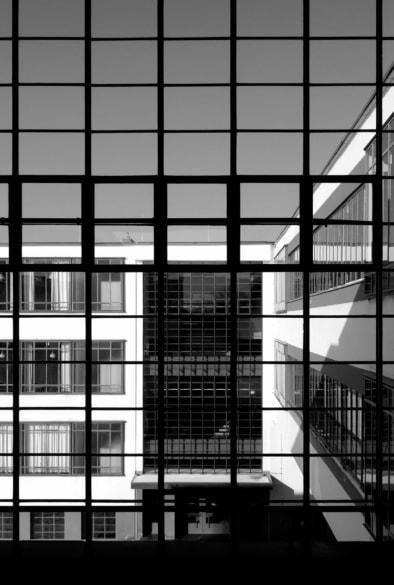 Bauhaus Dessau, Windows, Grid, Quest - Im Wandel der Zeit,Oliver Lins