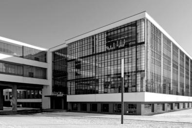 Bauhaus Dessau, Gropius, Facade, Oliver Lins