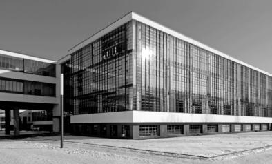 Bauhaus Dessau, Facade, Oliver Lins