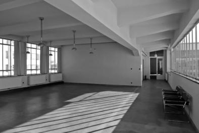 Bauhaus Dessau, classroom, Quest - Im Wandel der Zeit,Oliver Lins