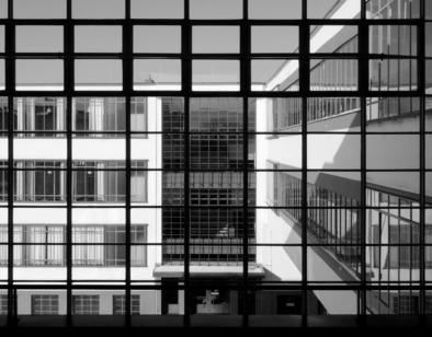 Bauhaus Dessau, Grid System, Window View, Oliver Lins