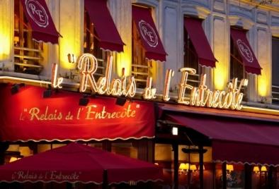 Le Relais de l'Entrecôte Monparnasse Paris. Oliver Lins, Quest - Im Wandel der Zeit