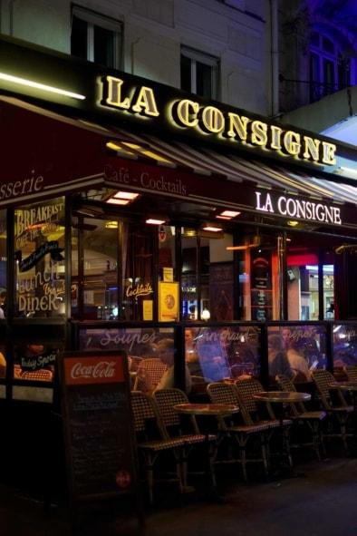 La Consigne Montparnasse - Oliver Lins, Quest - Im Wandel der Zeit