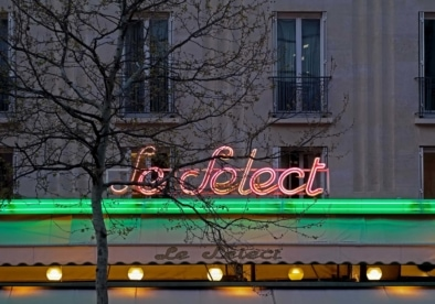Le Select Montparnasse - Oliver Lins, Quest - Im Wandel der Zeit