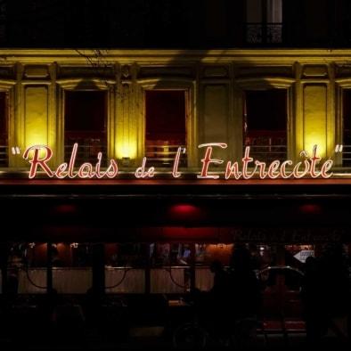 Le Relais de l'Entrrecote Monparnasse Paris. Oliver Lins, Quest - Im Wandel der Zeit
